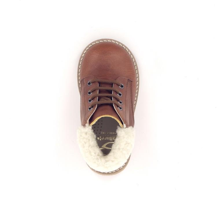 Gallucci kinderschoenen boots cognac 189438