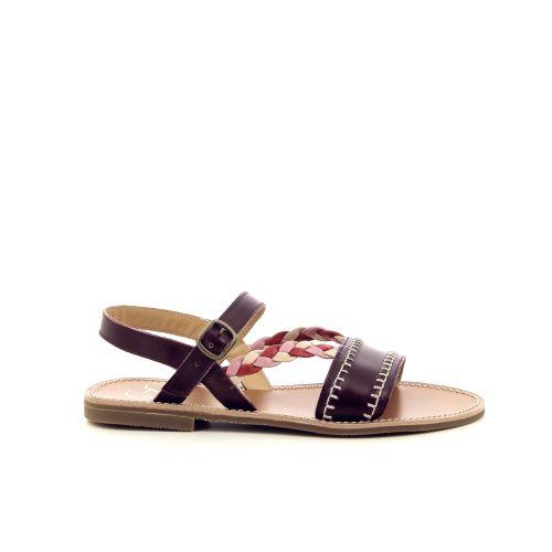 Gallucci solden sandaal bordo 194002