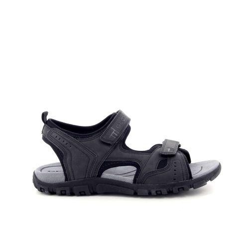 Geox herenschoenen sandaal zwart 183624