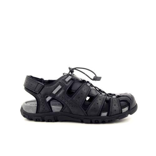 Geox herenschoenen sandaal zwart 193232