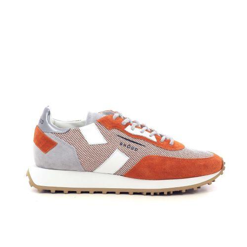 Ghoud herenschoenen sneaker oranje 212098
