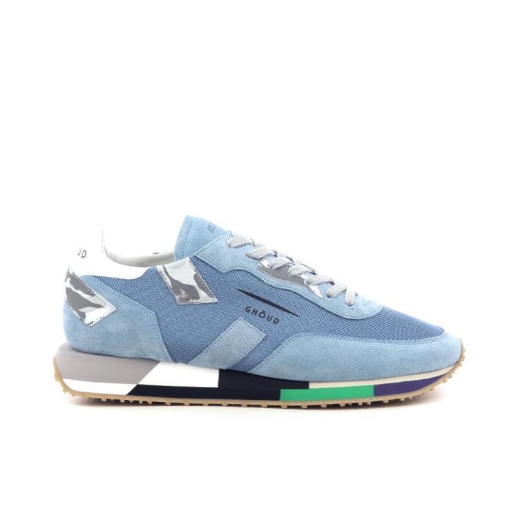 Ghoud herenschoenen sneaker lichtblauw 203009
