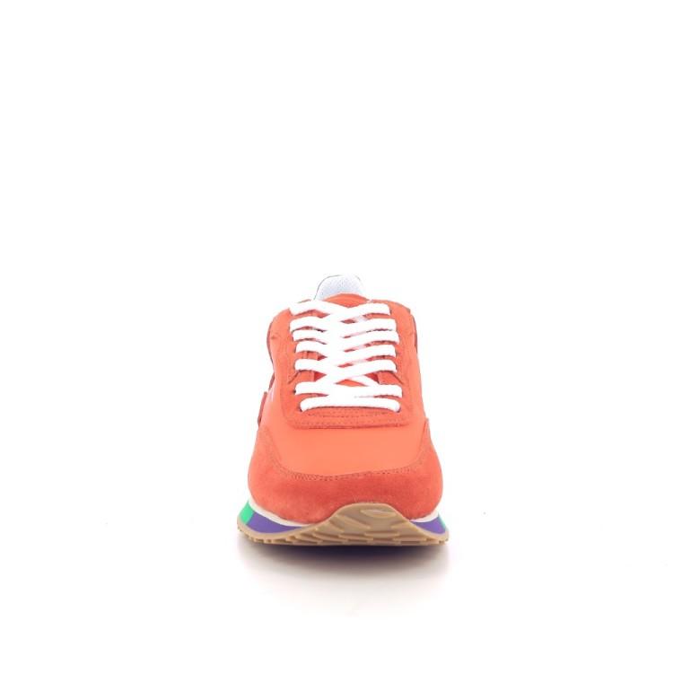 Ghoud herenschoenen sneaker oranje 203008