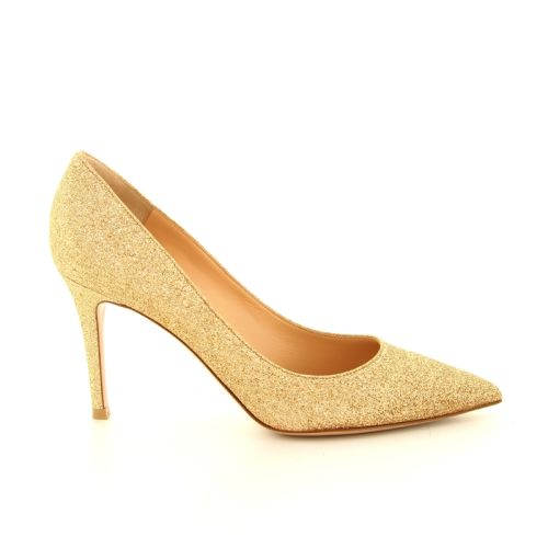 Gianvito rossi koppelverkoop pump goud rose 91107