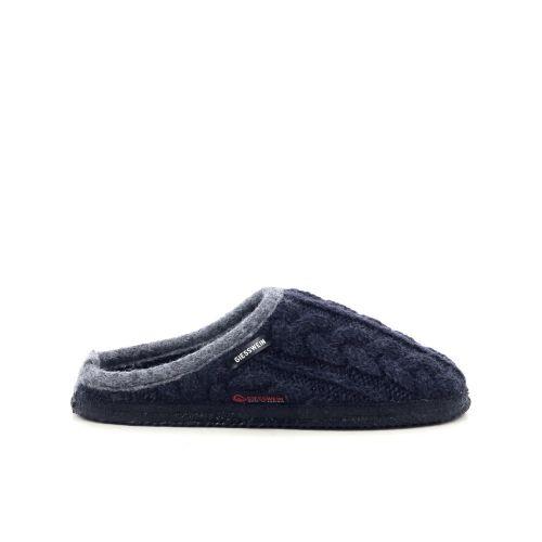 Giesswein damesschoenen pantoffel donkerblauw 210954