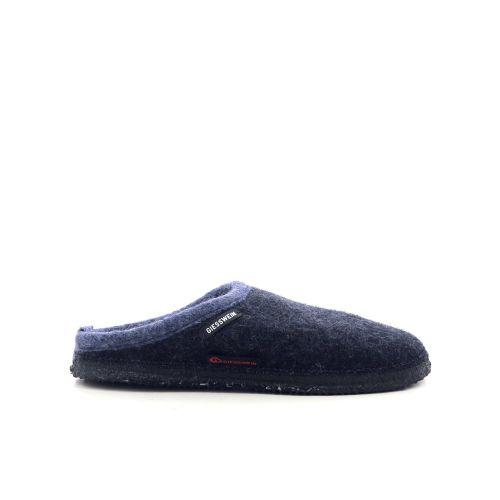Giesswein damesschoenen pantoffel donkerblauw 210956