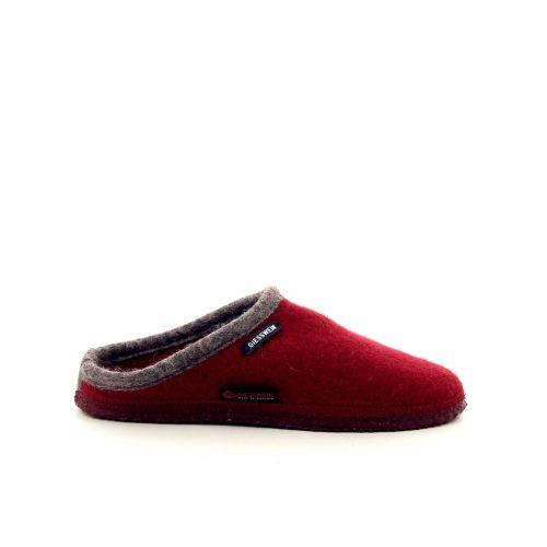 Giesswein damesschoenen pantoffel rood 189509
