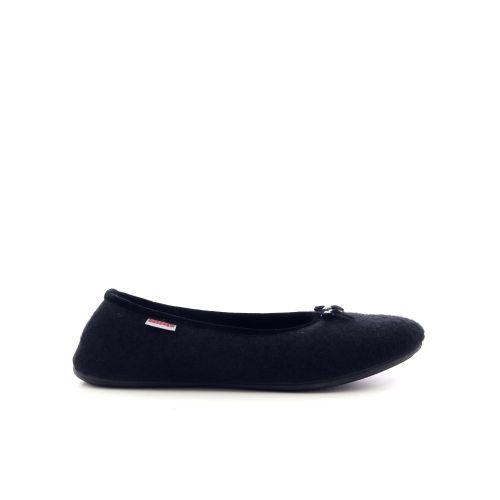 Giesswein damesschoenen pantoffel zwart 210960