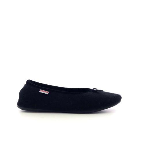 Giesswein damesschoenen pantoffel zwart 217867