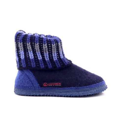 Giesswein kinderschoenen pantoffel donkerblauw 200162