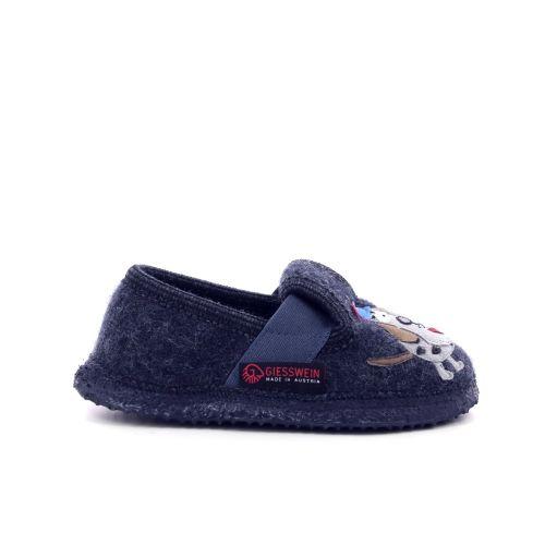 Giesswein kinderschoenen pantoffel donkerblauw 200167