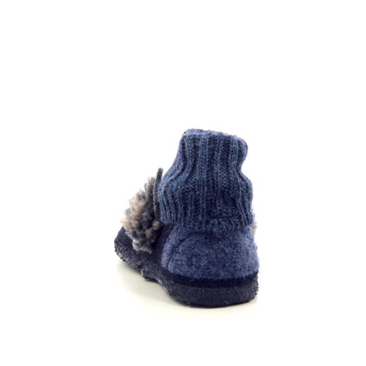 Giesswein kinderschoenen pantoffel blauw 189528