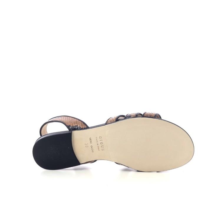 Gigue damesschoenen sandaal naturel 205686