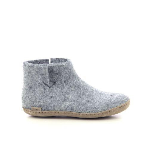 Glerups damesschoenen pantoffel blauw 222061