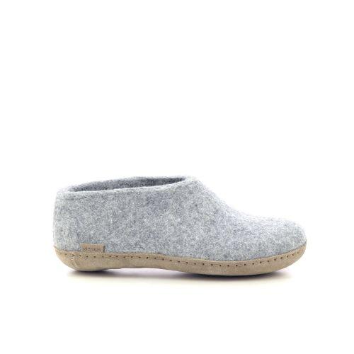 Glerups damesschoenen pantoffel groen 211030