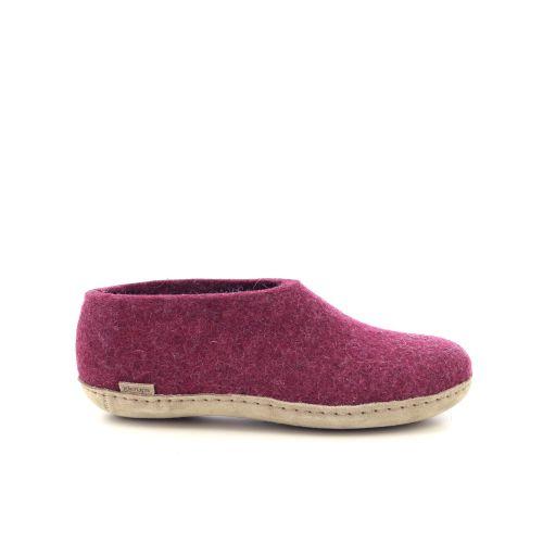 Glerups damesschoenen pantoffel lichtgrijs 191162