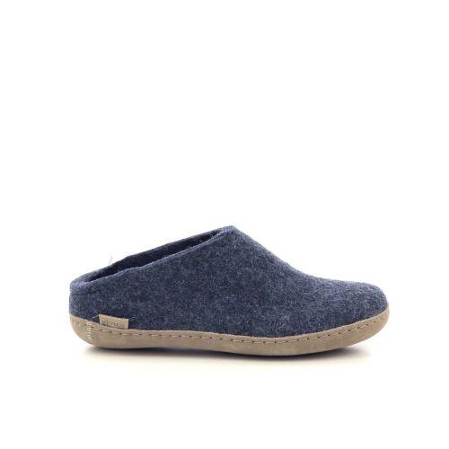 Glerups damesschoenen pantoffel lichtgrijs 222057