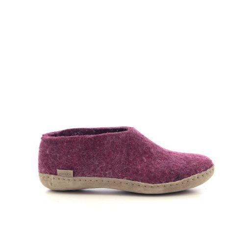 Glerups damesschoenen pantoffel paars 222056