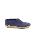 Glerups damesschoenen pantoffel blauw 191162