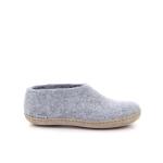 Glerups damesschoenen pantoffel grijs 191162