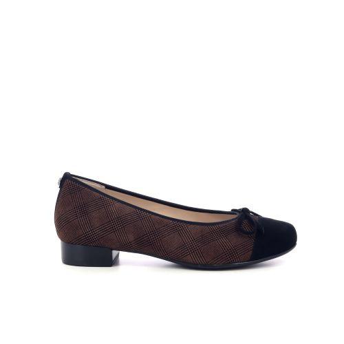 Hassia damesschoenen ballerina zwart 210656