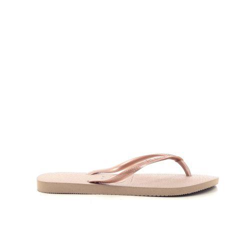 Havaianas damesschoenen sleffer brons 213135