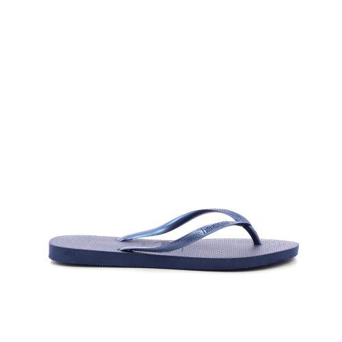 Havaianas damesschoenen sleffer donkerblauw 204671