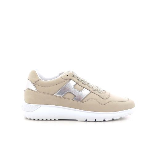 Hogan  veterschoen beige 212219