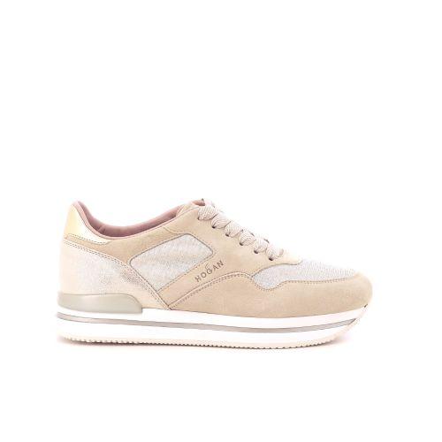Hogan damesschoenen sneaker camelbeige 202376