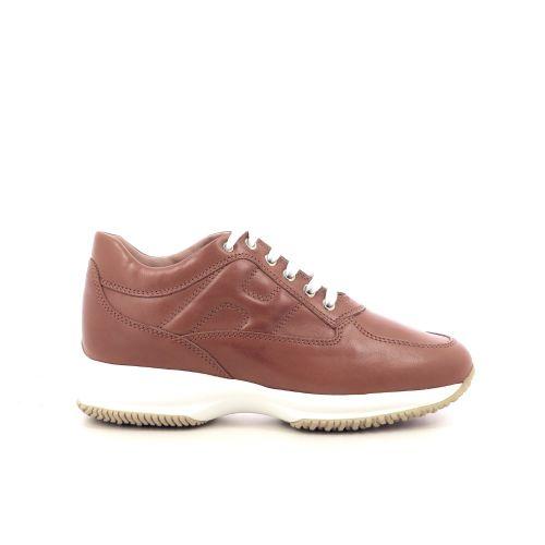 Hogan damesschoenen sneaker cognac 207848