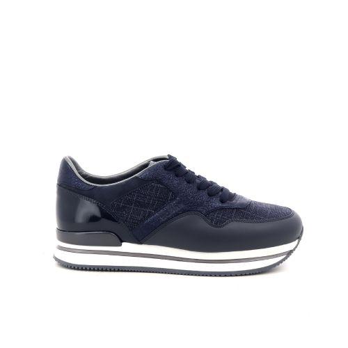 Hogan damesschoenen sneaker donkerblauw 197551