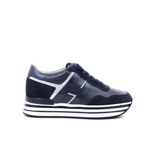Hogan damesschoenen veterschoen donkerblauw 212225