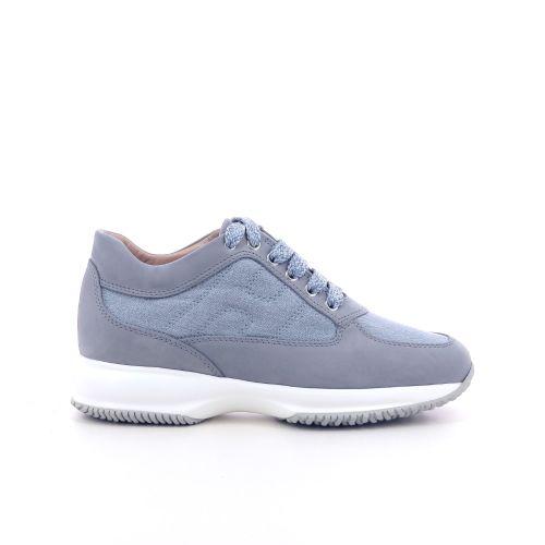 Hogan damesschoenen sneaker jeansblauw 202363