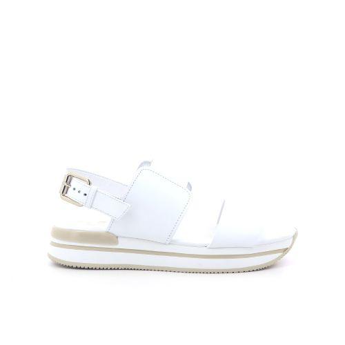 Hogan damesschoenen sandaal wit 202393