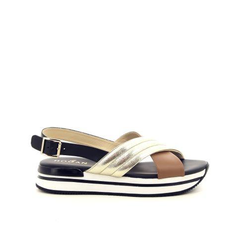 Hogan damesschoenen sandaal zwart 191913