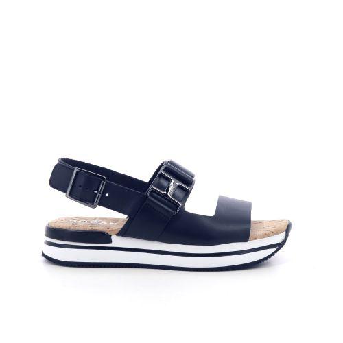 Hogan damesschoenen sandaal zwart 212233