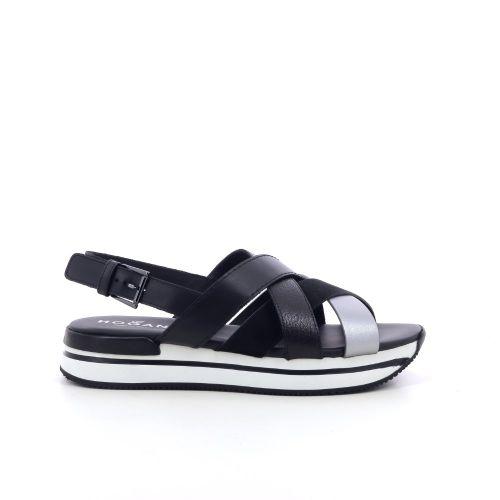 Hogan damesschoenen sandaal zwart 212236