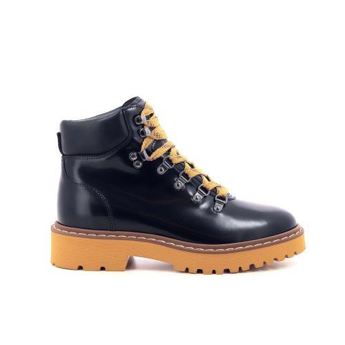 Hogan damesschoenen boots zwart 216958