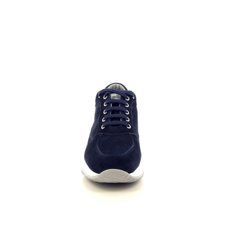 Hogan damesschoenen sneaker donkerblauw 191848