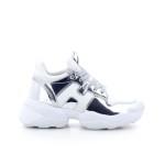 Hogan damesschoenen sneaker zilver 202372