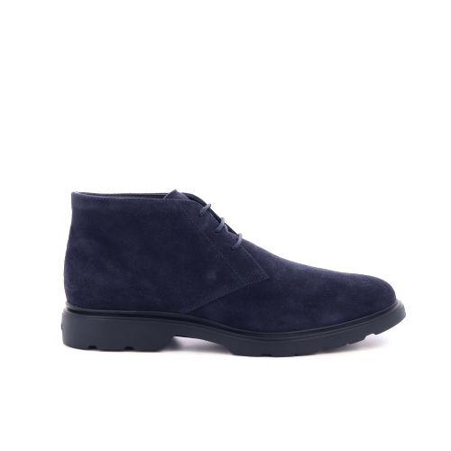 Hogan  boots donkerblauw 208049