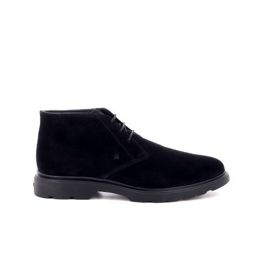 Hogan herenschoenen boots zwart 208048
