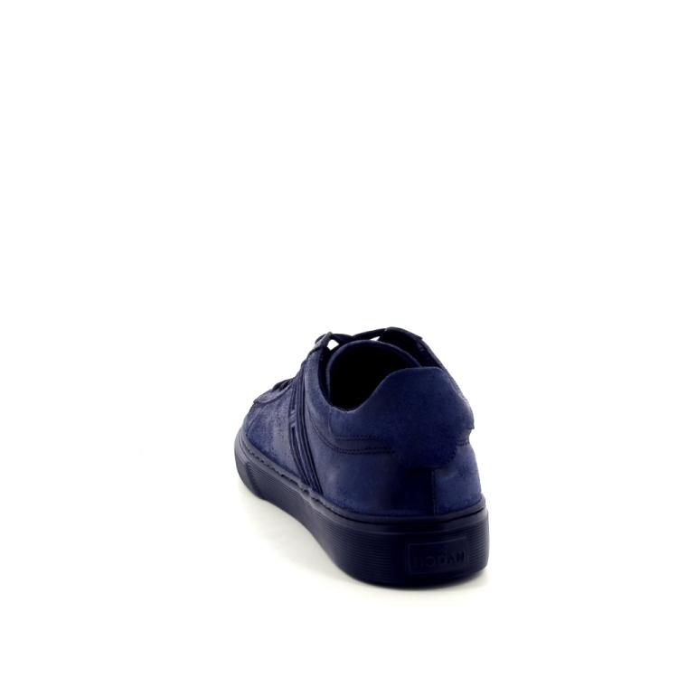 Hogan herenschoenen veterschoen donkerblauw 187138