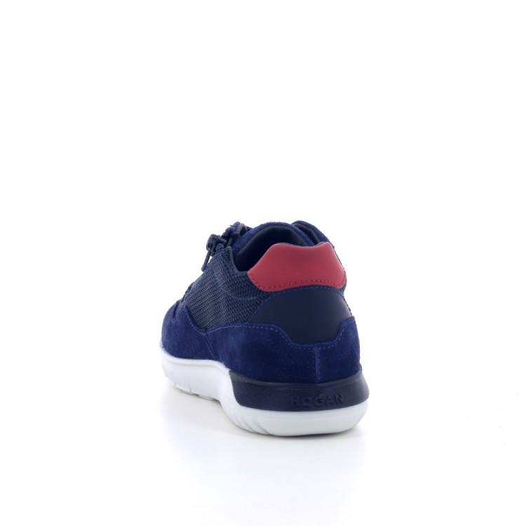 Hogan kinderschoenen sneaker donkerblauw 202783