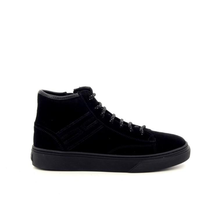Hogan kinderschoenen sneaker zwart 188818