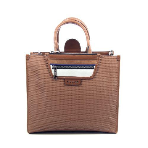 Hogan tassen handtas cognac 212543