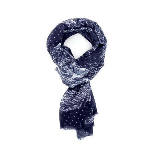 I love my moment accessoires sjaals blauwgrijs 178635