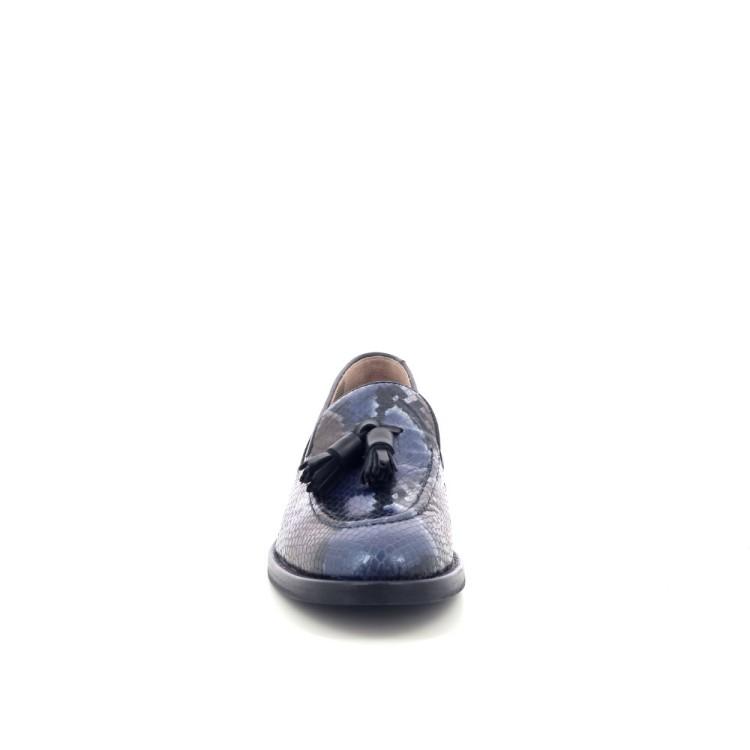 J'hay damesschoenen mocassin blauw 200517