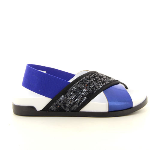 Jeannot  sandaal blauw 12253