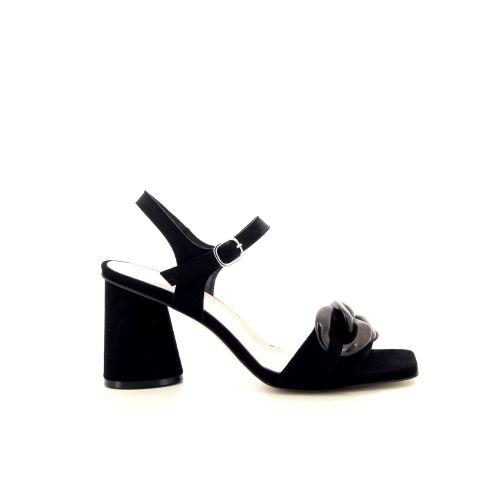 Jeannot damesschoenen sandaal zwart 195063